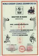 DOCTOR OF BUDO