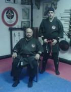 Master Yusef Ali Abdullah and Disciple Kirk Philoupou