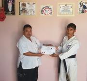 Sensei GOPAL Pun Magar receive 3rd Dan in Nepal Khukuri Martial Arts