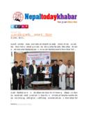 Nepal Today Khabar New Paper  May 27, 2017 Kathmandu,Nepal