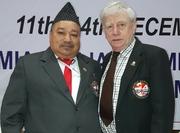GM Soke Jagdish Singhn Nepal & GM Alien Foster U.K.