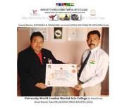 Dr.Jitendra Bahadane receieve PhD