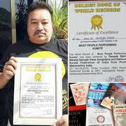 GOLDEN BOOK OF WORLD RECORD - 2016