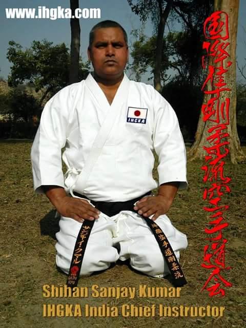 G.M. Sanjay Kumar 10th Dan/Hanshi (6th Dan Goju Ryu)