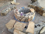 Custom Stone Fire Pits
