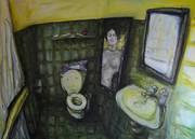 _GästetoiletteII, 125x180cm, 2011