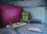 _Schlafzimmer,125x180cm,2011