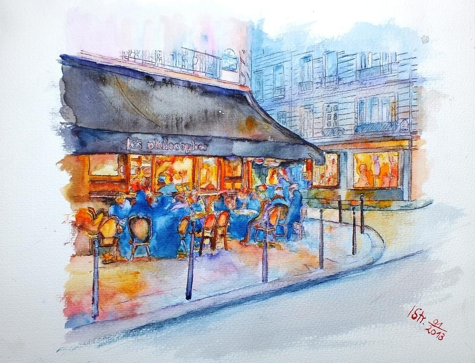 Les Philosophes, Paris