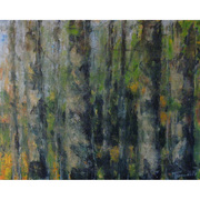 Wald III (Freude), 80x100