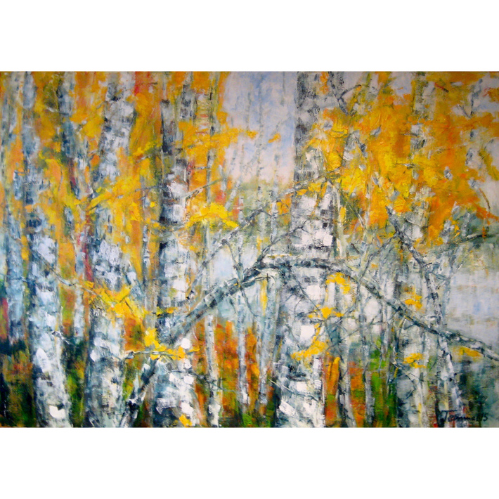 Herbst am See (Mut), 100x140