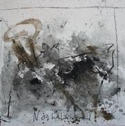 Nr.2016-05, Nordstemmen I, Mischtechnik, 80 x80 cm