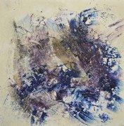 Abstraktes Materialbild