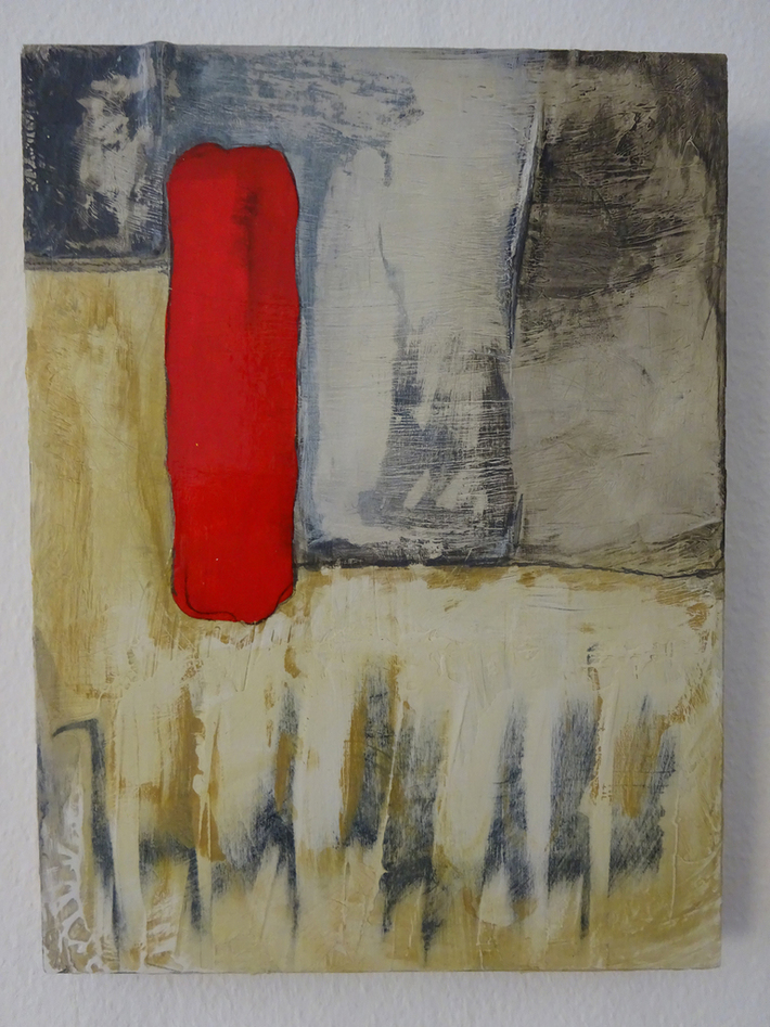 Think out of the box 2016 D 30x40 cm auf Holz