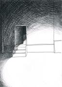 Illustration für Kurzgeschichte: Das_Update_grafit_A4