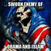 sworn enemy of obozo and islam