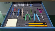 Testing Stationary drawer after
