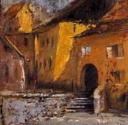 Segesvár (sárga ház)