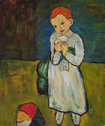 Child with a dove-Picasso