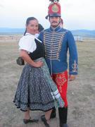 Magyar huszár és a felesége :)
