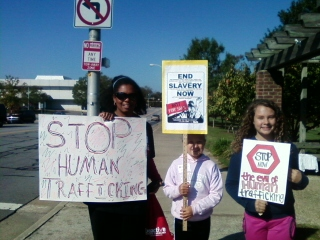 Stop Human Trafficking-its in Your Backyard!