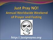 Worldwide Weekend of Prayer for the Addicted
