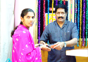 Free Bible Distribution - Rev. Arvind