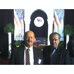 Dennis Connor and Dr. Dan at National Day of Prayer, D.C.