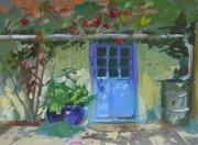 Blue Door in Tiptoe