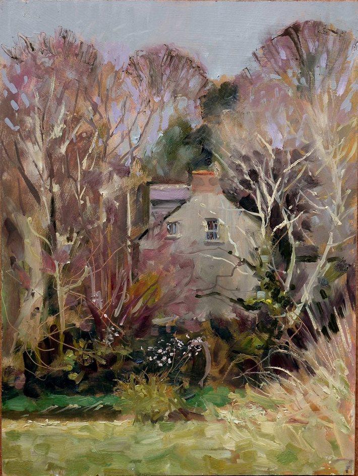 Bridge House. Spring. Clonegal 27.03.11