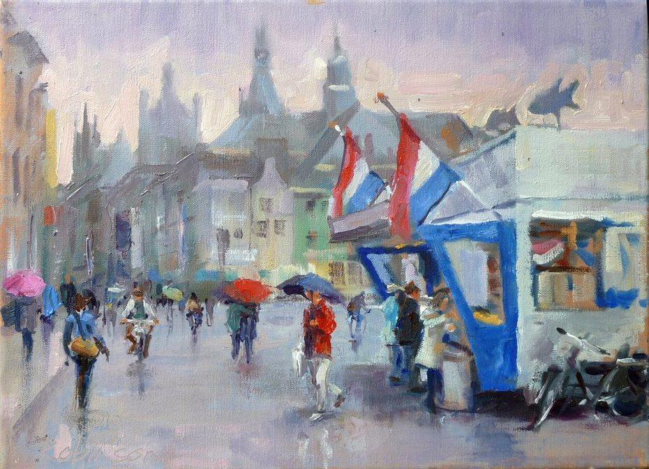 'Warme Kibbeling', Den Bosch Markt.
