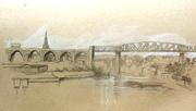 railway bridge, Drogheda