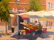 Morning Market in Pigneto