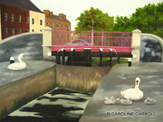 Portobello Harbour with Swans