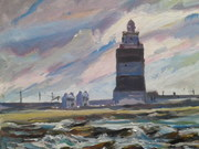 Hook Lighthouse-Pre AITO paint out.
