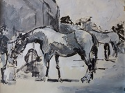 Horses. Festina Lente. 5th June 2013