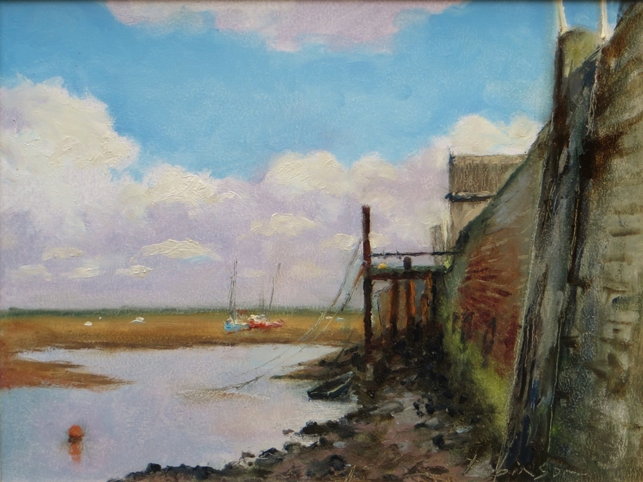 A Staithe at Wells.