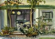 Listoke. Watercolours, 30x40, 10.10.15.