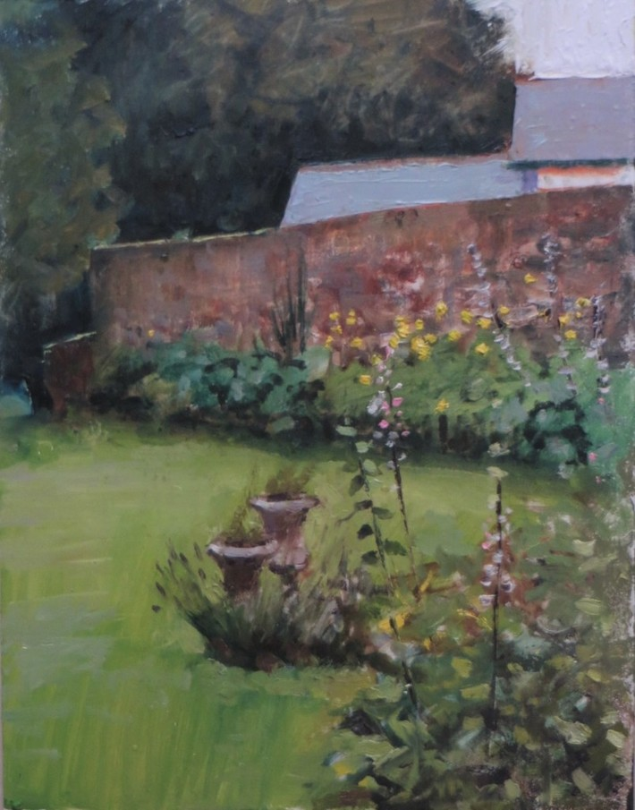 Side Garden, Moville House.