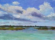 180405 Springtide, 18x24, oil on canvas