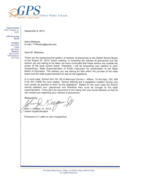 COMMON CORE: Petition For Redress Of Grievances Response From Superintendent Keegan of Gilbert Public Schools