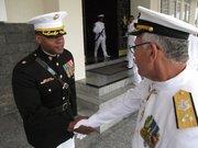 Working with Brazilian Marines