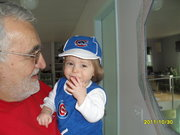 Precious Serena, the Cubs fan & father in law