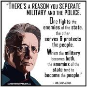 There's A Reason You Separate Military And Police...