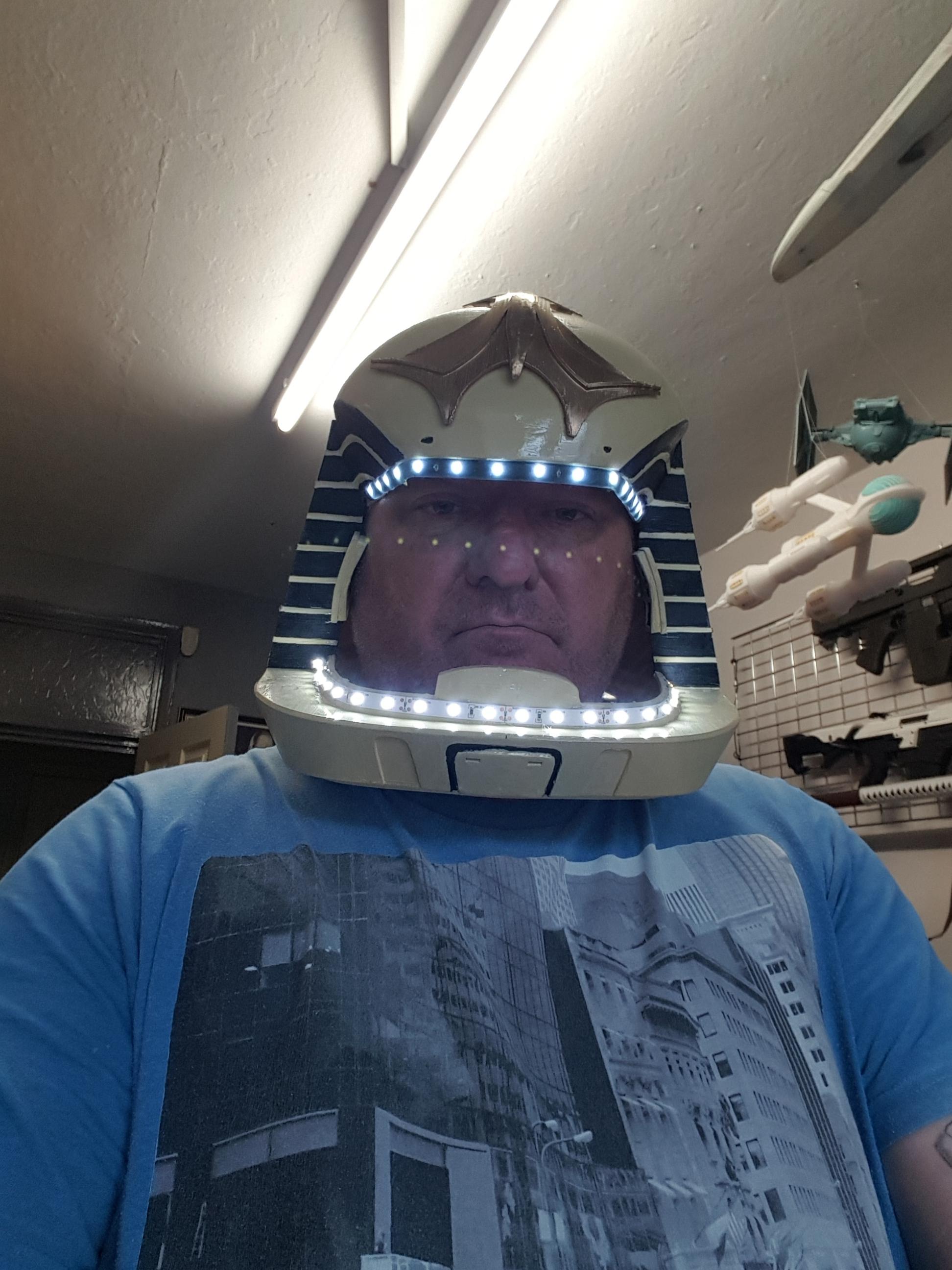 My Viper Helmet Done On A Budget hope its ok