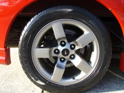 Burt painted 18x10in wheels