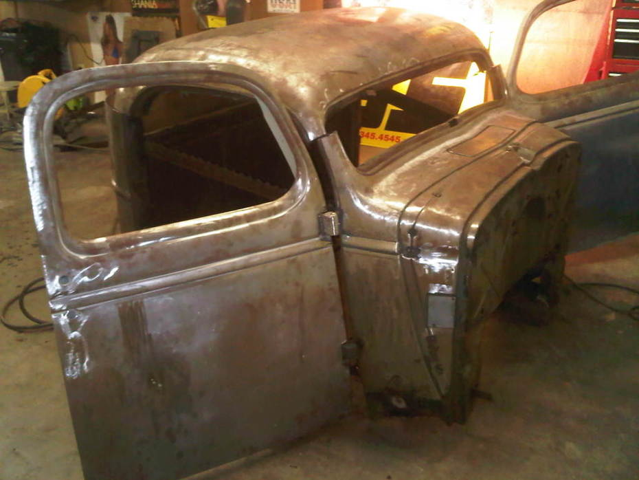 New 46 chevy build 3 days into it