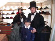 Abe, Todd, and his wife