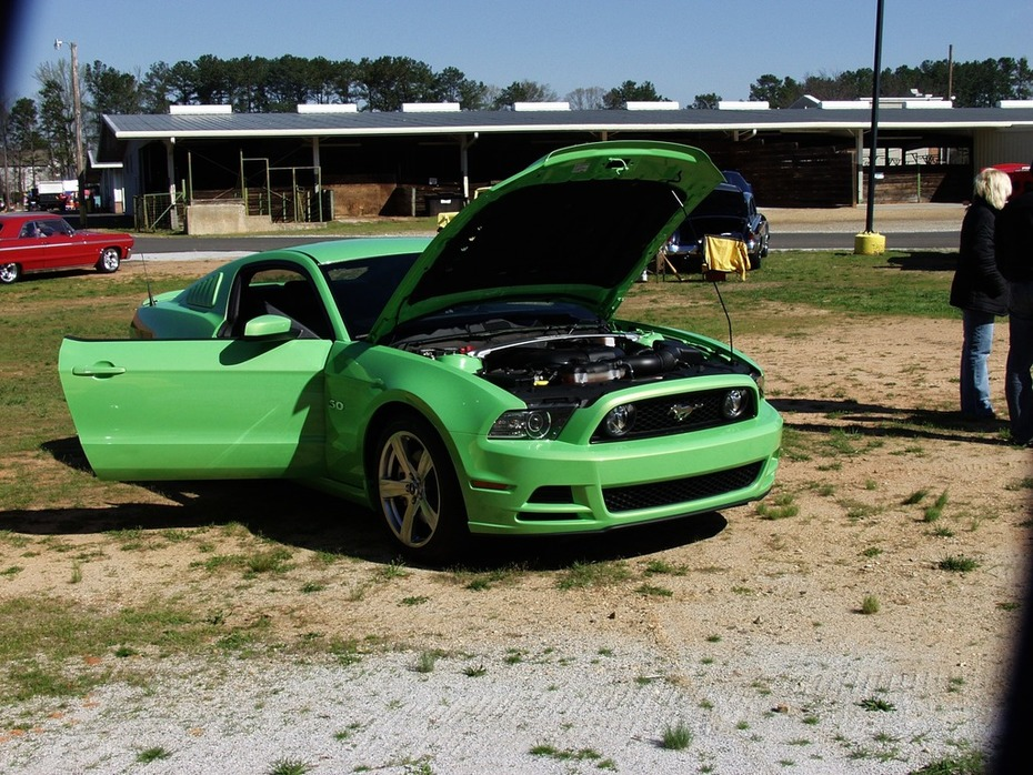 Spring Green Festival Car, Truck & Bike Show -Lawrenceville, GA . Mar. 28, 2015