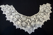 Youghal needle lace collar
