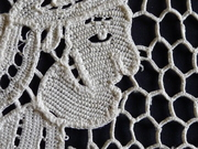 needle lace runner
